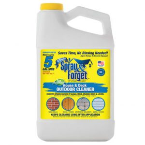 Spray and Forget Outdoor Mold Cleaner