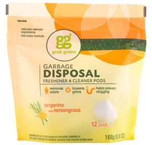 Grab Green Garbage Disposal Freshener & Cleaner