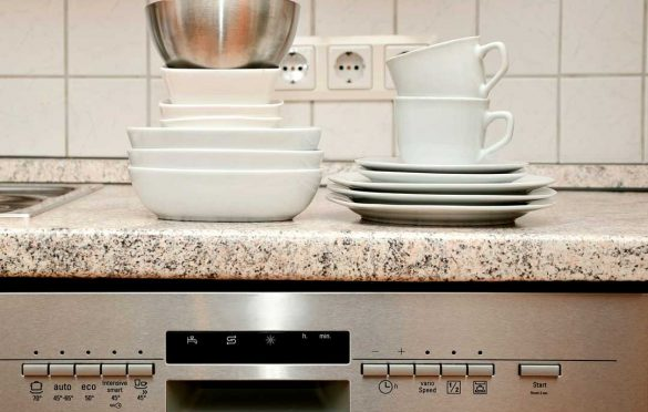 How to clean dishwasher pipes