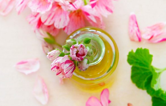 How to get fragrance oil out of clothes