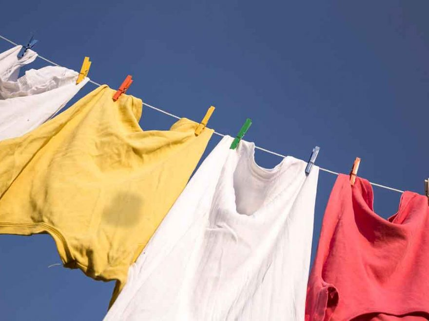 Removing Stains From Clothes That Have Been Dried
