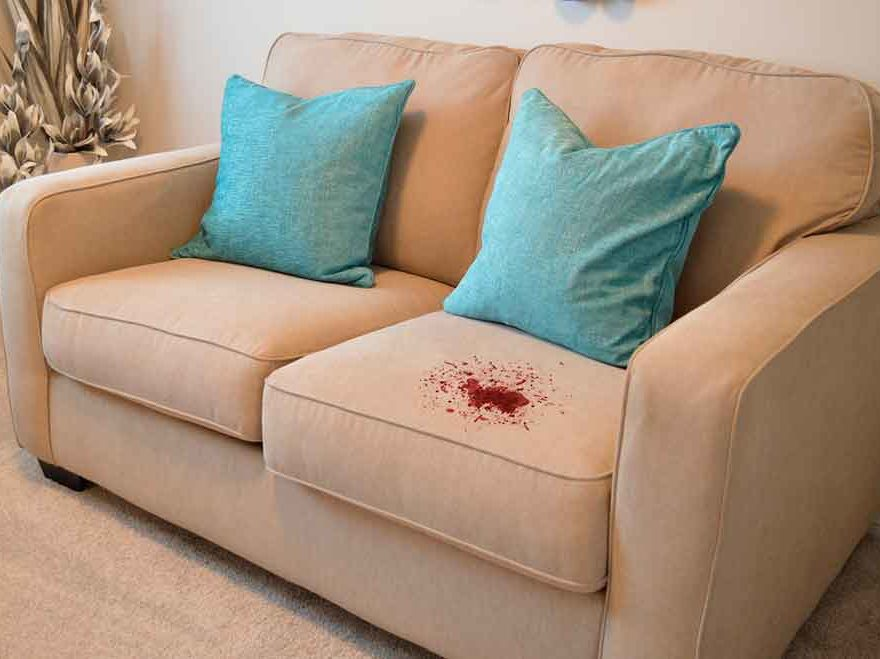 How to Remove Blood Stains from Upholstery