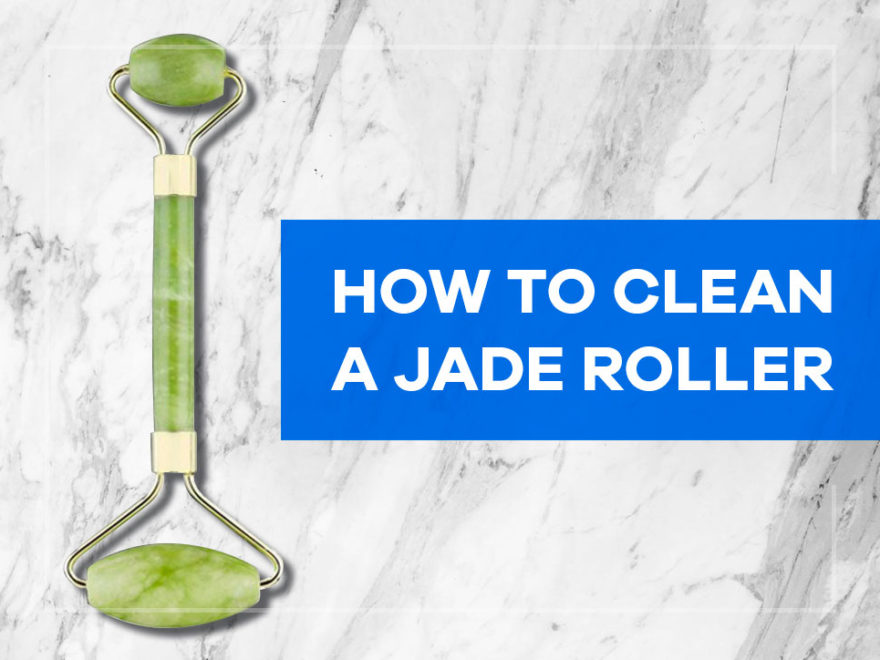 how to clean jade roller
