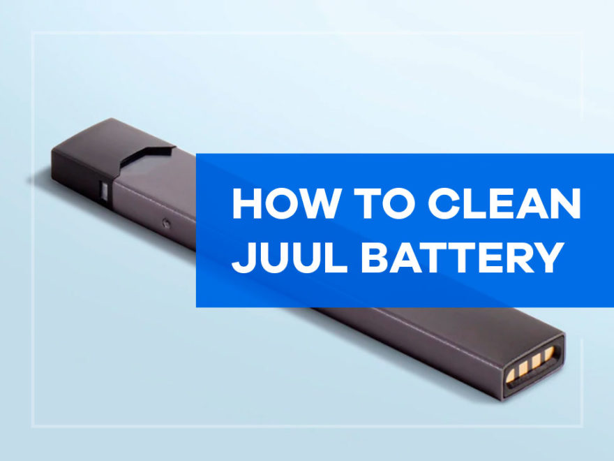 how to clean juul battery