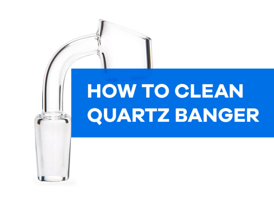 how to clean quartz banger